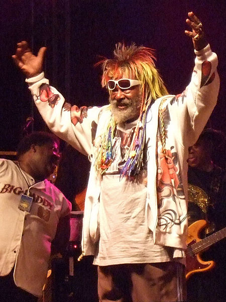 George Clinton in concert