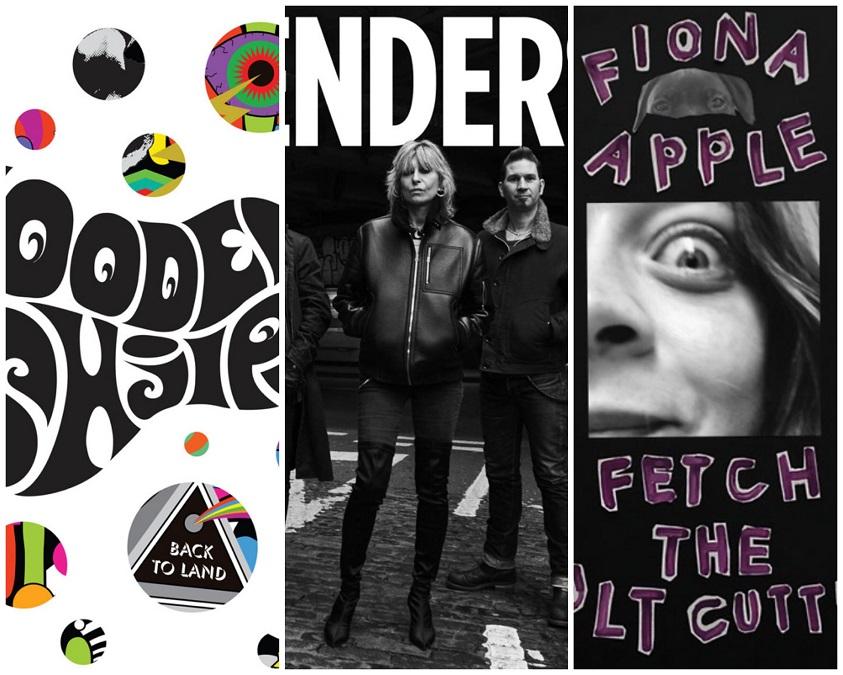 wooden shjips, the pretenders, fiona apple album covers