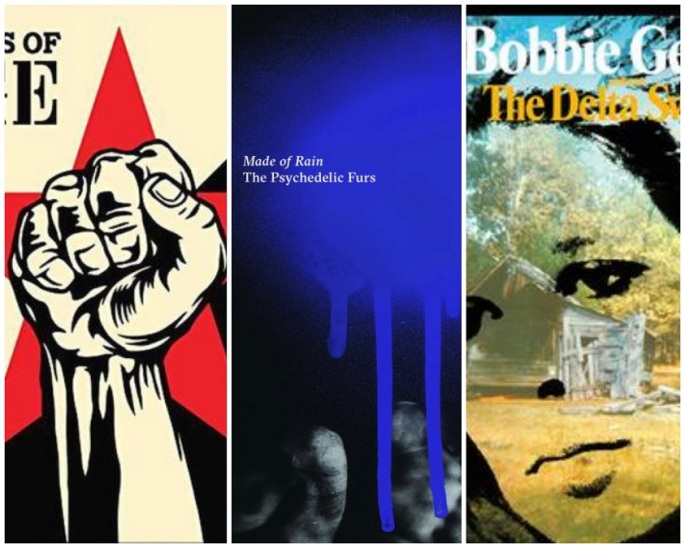 prophets of rage, psychedelic furs, bobbie gentry album covers