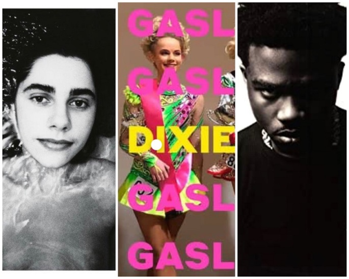 PJ Harvey, Dixie Chicks, Roddy Ricch album covers