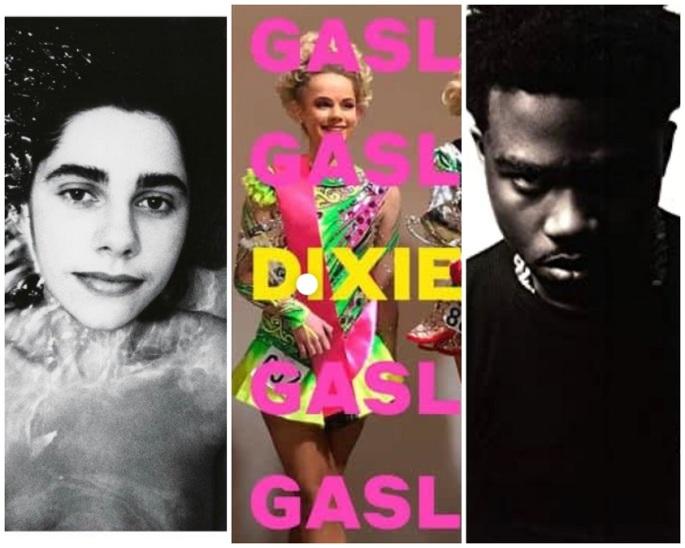 PJ Harvey, Dixie Chicks, Roddy Ricch album covers